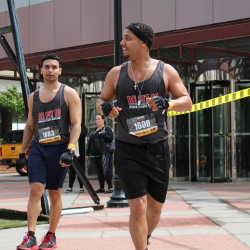 Men's Fitness City Challenge Race Jersey City 2015 - The guys really kicked it!