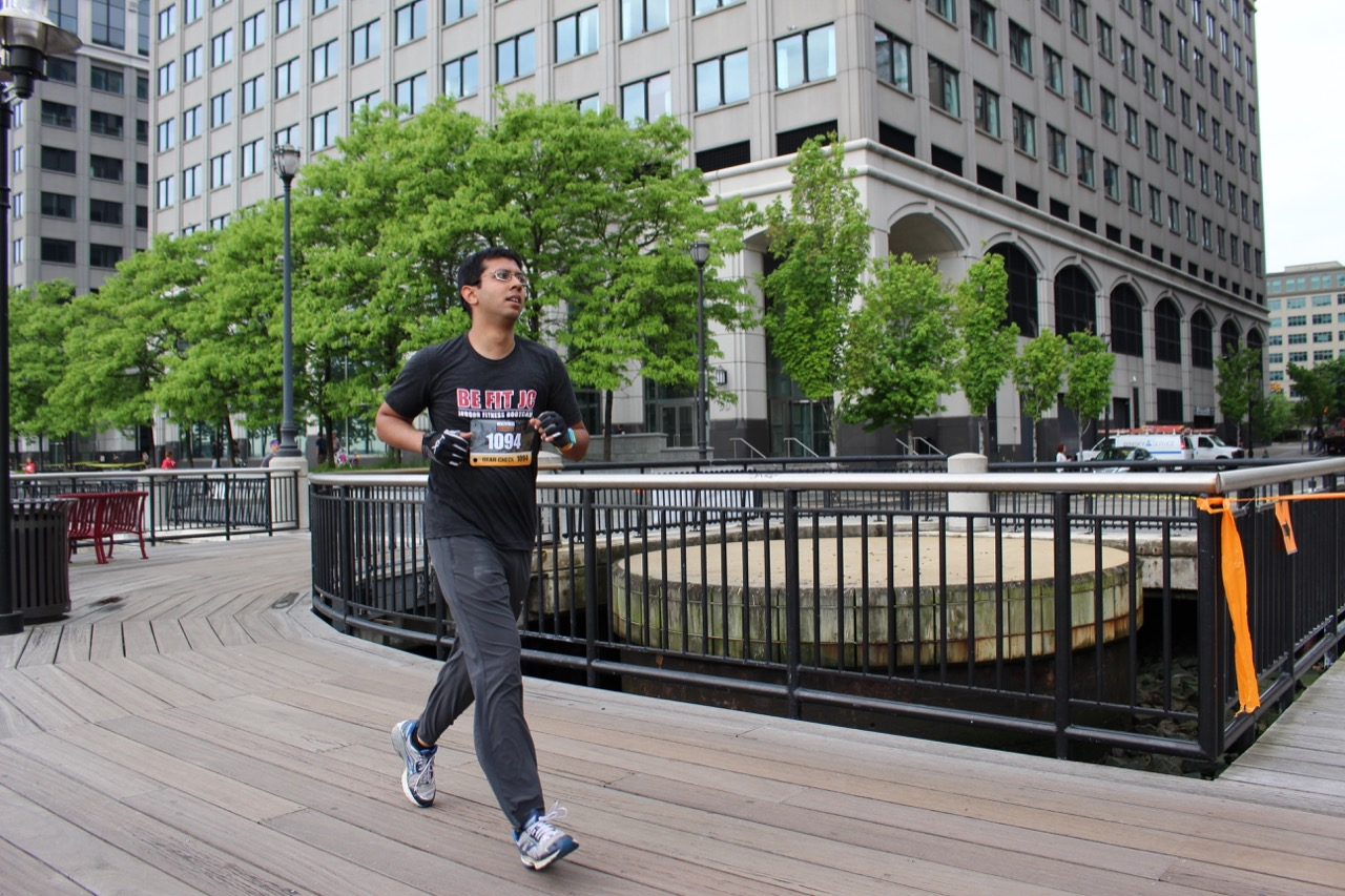 Be Fit JC Men's Fitness City Challenge Race Cardiovascular Conditioning with running!